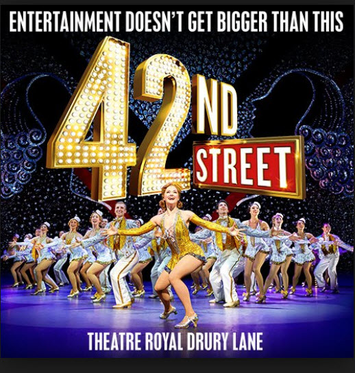 42nd STREET DRURY LANE.